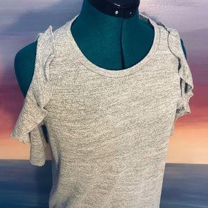 Ann Taylor LOFT cold shoulder sweater
